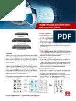 HUAWEI USG6300 Series Next-Generation Firewall Brochure