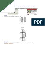Configuración de la comunicación serie de RSLogix 500 con un PLC Micrologix 1000