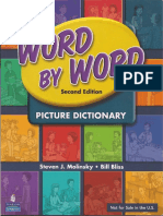 Word by Word Picture Dictionary NEW