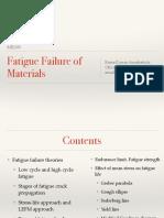 Fatigue Failure Materials