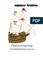 Warhammer Armies - Pirates of Sartosa
