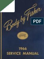1966 Fisher Body Manual