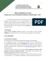 Edital Pmae n01 2018