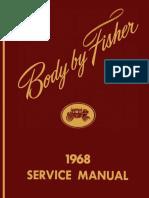 1968 Fisher Body Manual