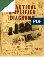 Robin & Lipman 1947 Practical Amplifier Diagrams