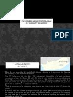 Principales Minas Subterráneas en El Perú y El