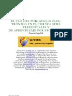 El portafolio electrónico en entornos semipresenciales y de aprendizaje por problemas