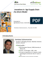 Innovations in Agri Business