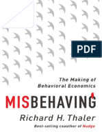Richard H Thaler - Misbehaving - The Story of Behavioral Economics