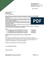 Dismantling Letter