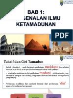 Nota Kuliah Titas Bab 1