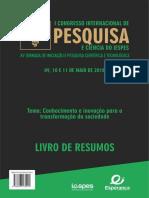 Livro Congresso IESPES 2018