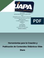 Herramientas Para La Creación y Publicacón de Contenidos Didácticos.