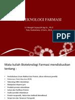 1.BIOTEKNOLOGI FARMASI