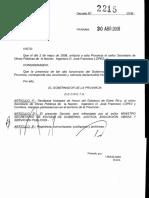 Decreto Huesped Lopez