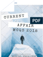 Current Affairs MCQs 2018 for the Preparation of Competitive Exams