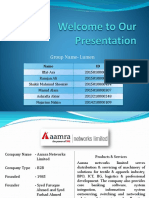 Aamra Networks Limited