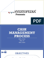 Cash Management Process