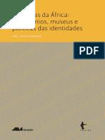 FILHO, Wilson Trajano. Patrimonialização Dos Artefatos Culturais e a Redução Dos Sentidos