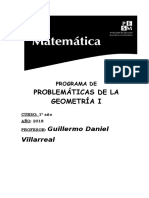 Programa de Geometria