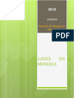Gases en Mineria