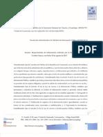 Resolución Administrativa de Información Pública 11-2017