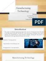 Manufacturing Technology 2