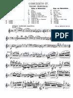 Beriot Violin Concerto 4 Violin
