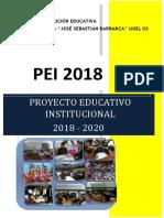 Proyecto Educativo Institucional  I.E. N° 1156  JSBL 2018  Ccesa007