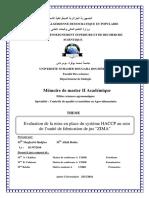 Systéme HACCP