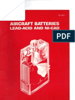 Aircraft Batteries Lead- Acid 6 Ni- Cad