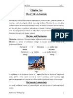 Theory of Mechanisms