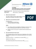 Motor Insurance - PDS TP 231214 v4