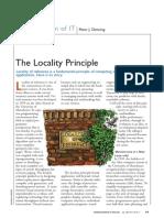 Locality Principle