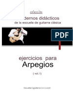 Arpegios Pages