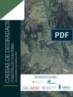 Causas de Degradación Forestal en Colombia