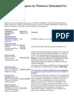 Recursos de Bloqueio Do Windows Embedded 8