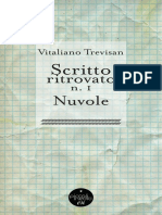 Vitaliano Trevisan - Scritto Ritrovato No 1