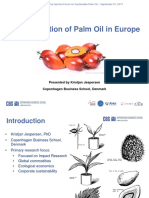 World Cafe 1 the Perception of Palm Oil in Europe