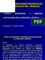 Modulo v - Tutela Anticipada y Medidas Cautelares en El Proceso Laboral - Dr. Gustavo Toledo - 12 10