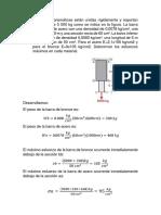 Ejercicios Propuestos Mecanica de Materiales
