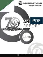 Ashok Leyland - Annual Report 2017-18