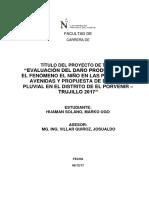 Estructura Proyecto Tesis Marko