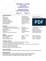 stc resume 2018