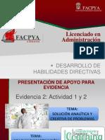 Presentación Apoyo Evidencia 2