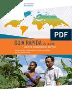 Guía Rápida de La FAO Para La Cooperación Sur-Sur