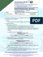 INFORME  TÉCNICO DE SERVICIO N°3219-TOTTUS CAJAMARCA- 09.09.15