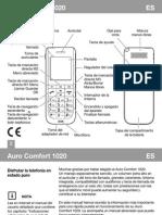 Manual Auro Comfort 1020 Es