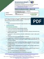 INFORME  TÉCNICO DE SERVICIO N°3539-TOTTUS CAJAMARCA- 24.03.16