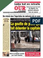 Journal Le Jour d Algerie Du 03.10.2018